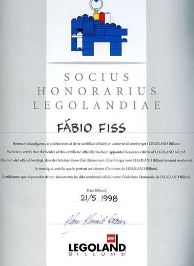 Diploma Cidadão Honorário