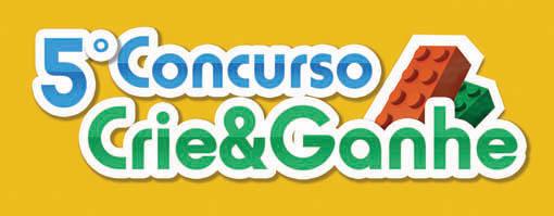 LEGO Brasil apresenta o 5º Concurso Crie e Ganhe