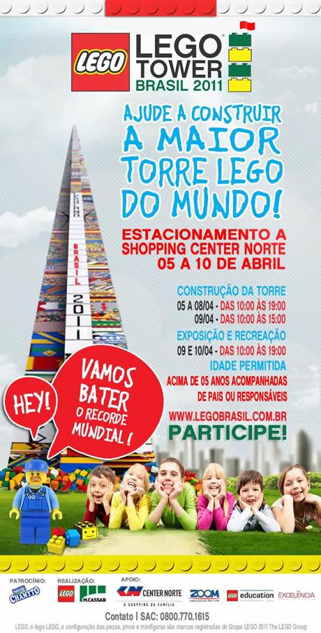 Lego Tower Brasil 2011