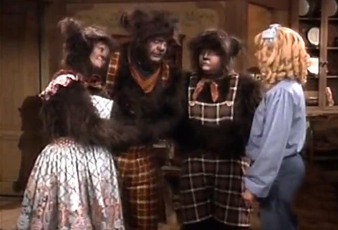 Cachinhos Dourados e os 3 Ursos